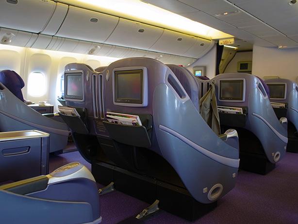 タイ航空 ビジネスクラス Thai Airways Business class
