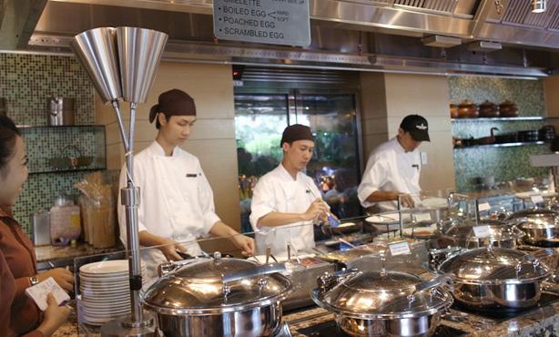 インターコンチネンタル アシアナ サイゴン 朝食
