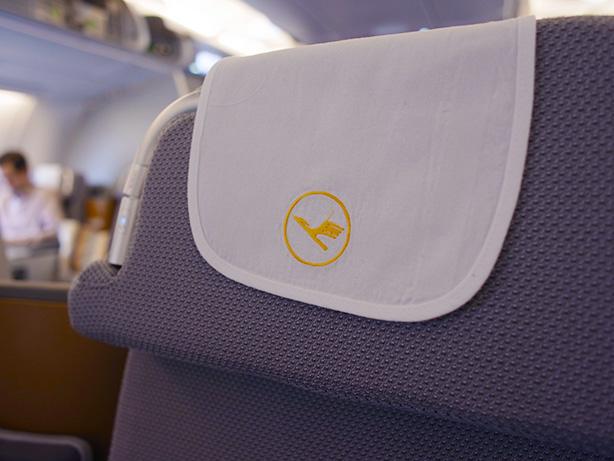 JFKからフランクフルトまでルフトハンザ・A380ビジネスクラス