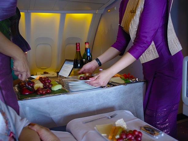 タイ航空 ビジネスクラス 747ジャンボ