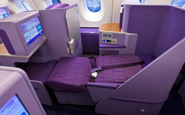 タイ航空 A380 ビジネスクラスシート
